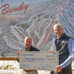 "Bromley Presents $5,000 in ""Mom's Day Off"" Funds to SVMC's Cancer Center"