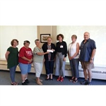 Cancer Center Community Crusaders Receive Donation
