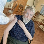Residents and Employees of CLR Receive Vaccine